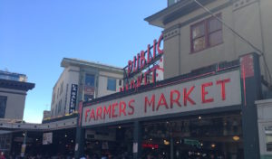 Enjoy a day of seattle fun at Pike Place Market.