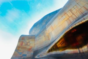 The Experience Music Museum is gorgeous.