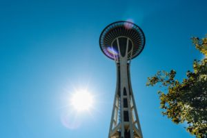 You have to visit the space needle.